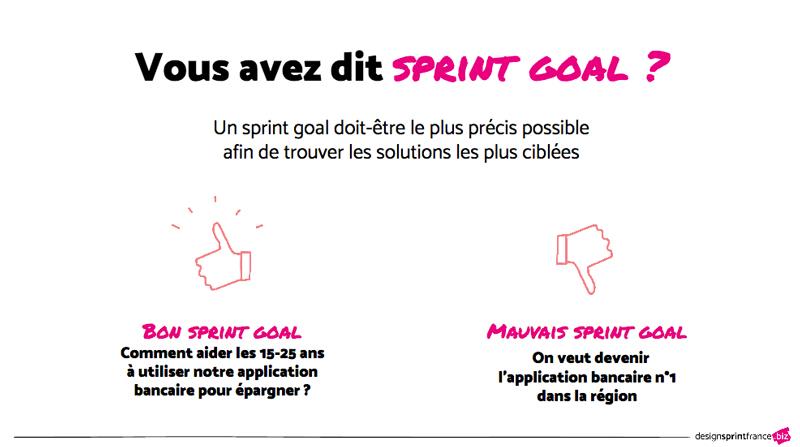 sprint goal design sprint