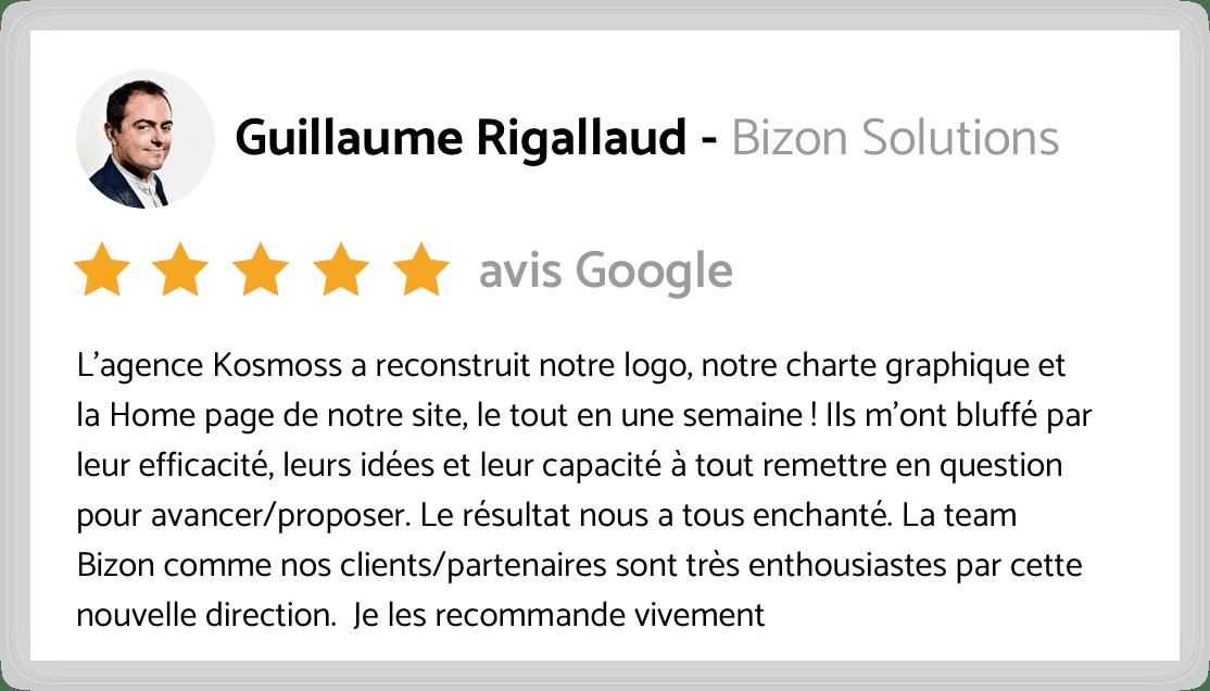 avis google bizon
